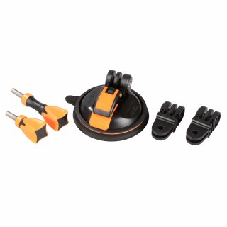 iSHOXS Saugnapf - Small Cup Value Pack+ - Suction Cup, für GoPro Hero und kompatible Action-Cams
