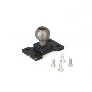 iSHOXS Power Force Cup Ball Base, Montage-Adapter für Small Grab Pro 40/60